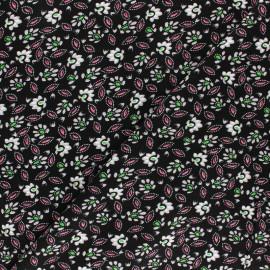 Tissu Viscose Alda - noir/gris x 10cm