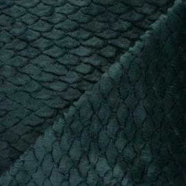 Fourrure écaille - vert x 10cm