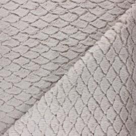 Fourrure écaille - beige x 10cm