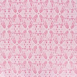 Lace Fabric - white Brigitte x 10cm