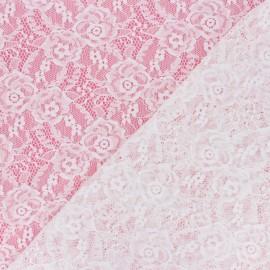 Tissu Dentelle élasthanne Amanda - écru x 10cm