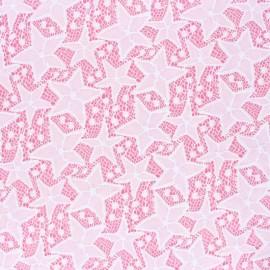 Elastane Lace Fabric - white Estelle x 10cm