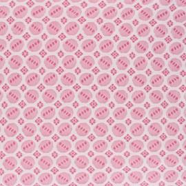 Elastane Lace Fabric - Raw Scarlett x 10cm
