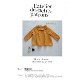 Blouse Sewing Pattern - L'Atelier des Petits Patrons Roxane