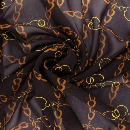 Muslin Fabric - purple red Conti x 50cm