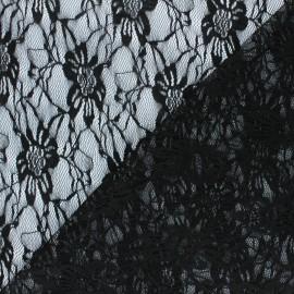 Tissu Dentelle Méria - noir x 10cm