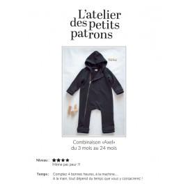 Jumpsuit Sewing Pattern - L'Atelier des Petits Patrons Axel