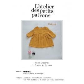 Dress Sewing Pattern - L'Atelier des Petits Patrons Agathe