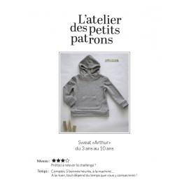 Sweatshirt Sewing Pattern - L'Atelier des Petits Patrons Arthur
