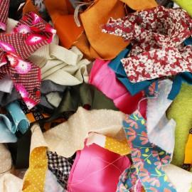Leftover fabrics (bag of 1,5 kg)