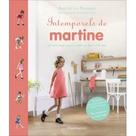 """Livre """"Intemporels de Martine"""""""