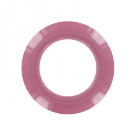 Plastic Eyelet to Clip - Vintage Pink