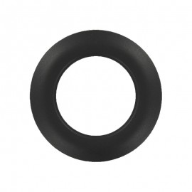 Plastic Eyelet to Clip - Demi-Matte Charcoal