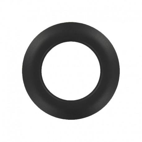 Plastic Eyelet to Clip - Matte Black