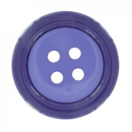 Bouton Clown bicolore violet-violet clair