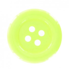 Bouton clown fluo jaune