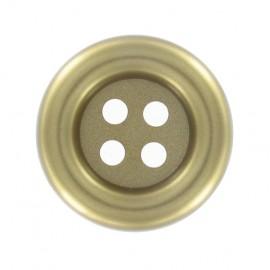 Clown button - golden