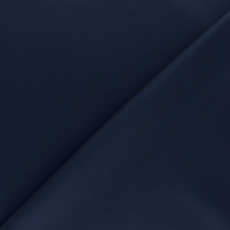 Tissu jersey piqué spécial Polo - bleu marine x 10cm