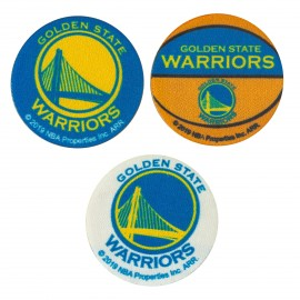 NBA Iron-On Patch - Warriors Small