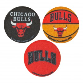 NBA Iron-On Patch - Chicago Bulls Small