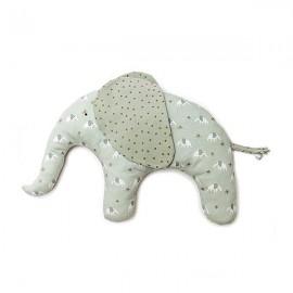 Kit Couture Doudou éléphant - bleu