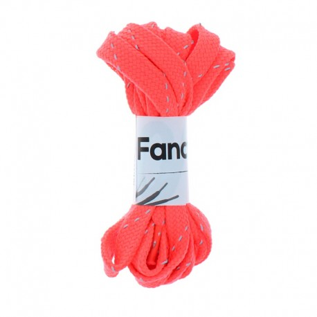 130 cm Braided Lace (By Pair) - Neon Pink
