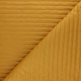 Tissu matelassé linea - moutarde x 10cm