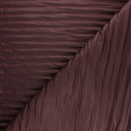quilted fabric - burgundy Linea x 10cm