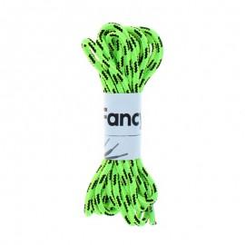 Lacet Chaussure Sporty 130 cm (La Paire) - Vert Fluo