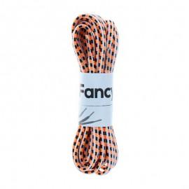 130 cm Elastic Lace (By Pair) - Neon Orange Focal
