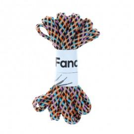 130 cm Braided Lace (By Pair) - Multi Tempu