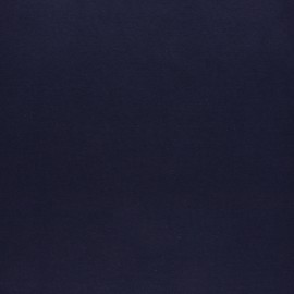 Jersey tubulaire bord-côte - bleu marine x 10cm