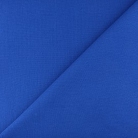 Jersey tubulaire bord-côte - bleu royal x 10cm
