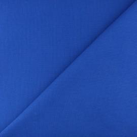 Tubular Jersey fabric - Royal blue x 10cm