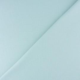 Jersey tubulaire bord-côte - vert d'eau x 10cm