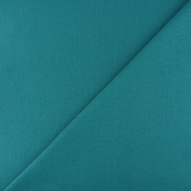 Tubular Jersey fabric - Peacock green x 10cm