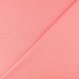 Jersey tubulaire bord-côte - pêche x 10cm