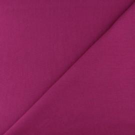 Jersey tubulaire bord-côte - violine x 10cm