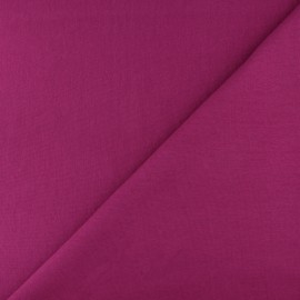 Tubular Jersey fabric - Dark purple x 10cm