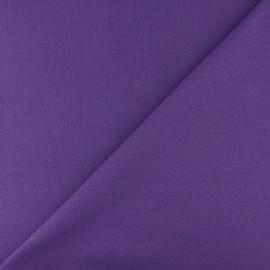 Jersey tubulaire bord-côte - violet x 10cm