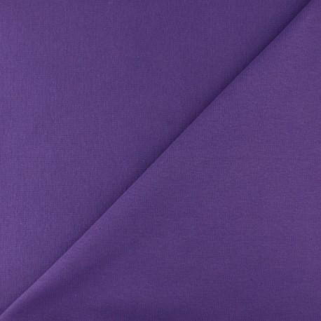Tubular Jersey fabric - Purple x 10cm