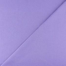 Jersey tubulaire bord-côte - mauve x 10cm