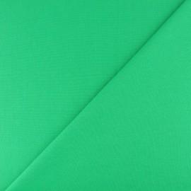 Jersey tubulaire bord-côte - vert x 10cm
