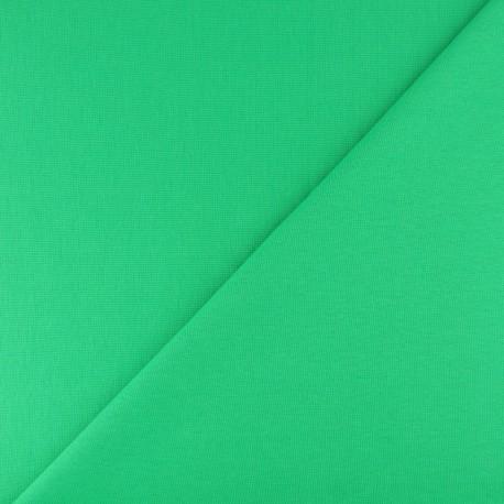 Tubular Jersey fabric - Green x 10cm