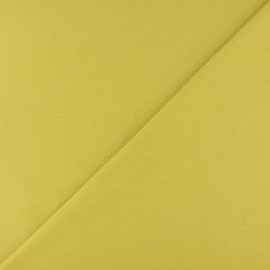 Tubular Jersey fabric - Lemon green x 10cm