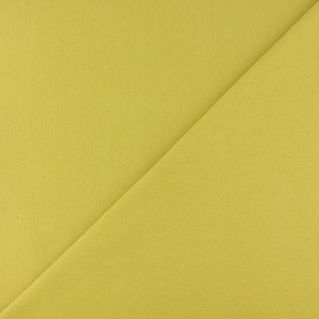 Tubular Jersey fabric - Lemon green x 10cm