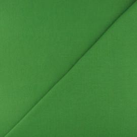 Jersey tubulaire bord-côte - avocat x 10cm