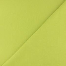 Jersey tubulaire bord-côte - tilleul x 10cm