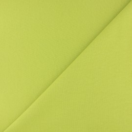 Tubular Jersey fabric - Lime green x 10cm