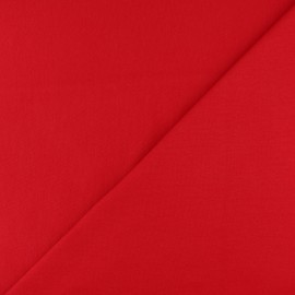 Tubular Jersey fabric - Red x 10cm